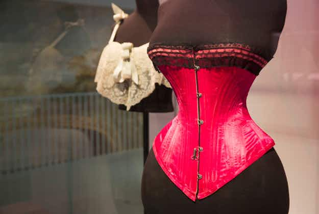 Exposed!  V&A museum reveals latest exhibition all about underwear