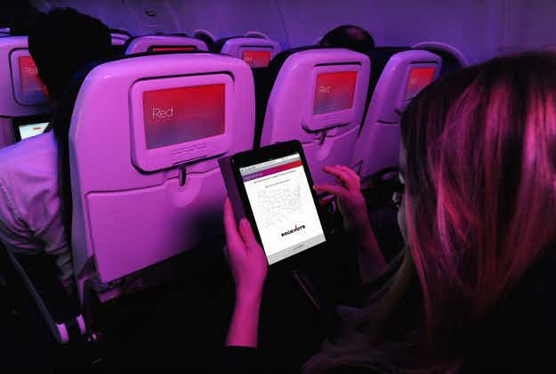 Virgin America will allow passengers to register to vote in the US election at 35,000 feet