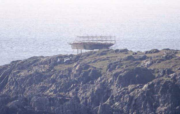 The Millennium Falcon is being built in Donegal, a county far, far away