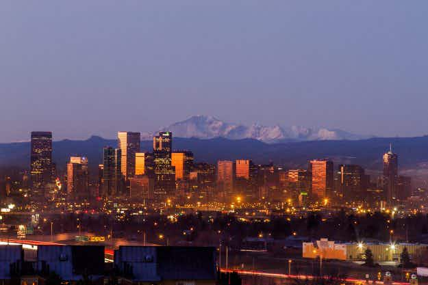 Denver is revealed as the fastest growing of the 50 biggest cities in the USA