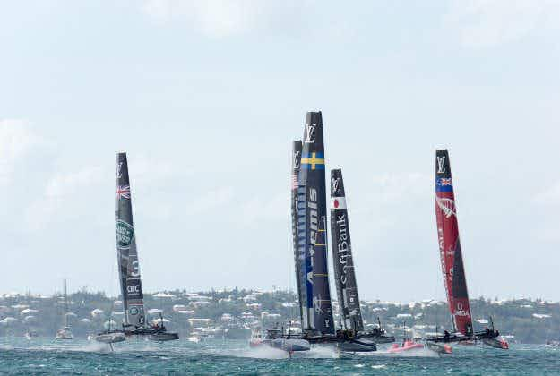 America's Cup sets sail in NYC for the first time in almost a century