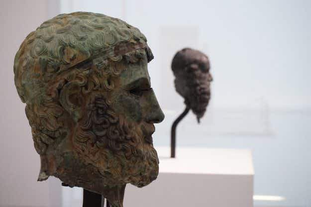 Bronze Greek statues star in long-awaited museum reopening in Reggio di Calabria, Italy