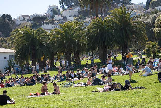 Dolores Park - San Francisco's favourite green spot is charging for picnic space