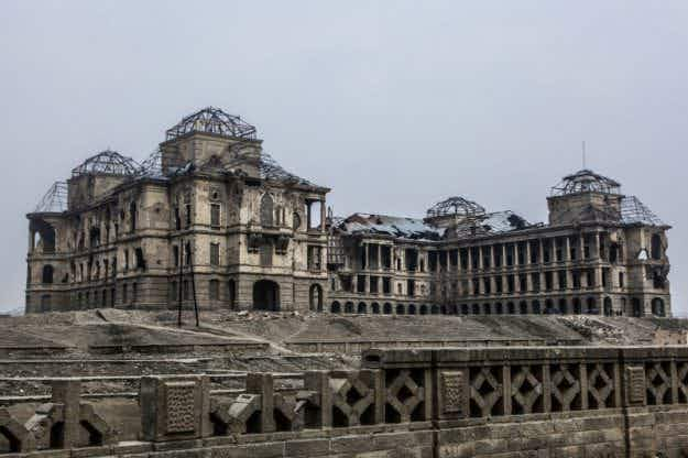 Afghanistan will rebuild Kabul's historic Darulaman Palace after it was ruined by civil war