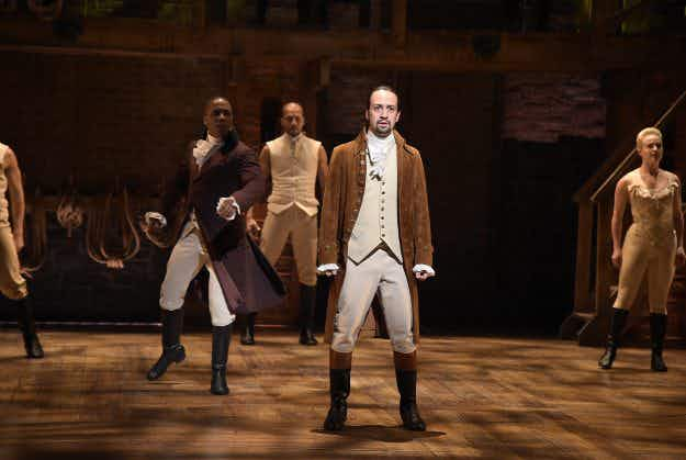 Here's your shot! A New York hotel is including Hamilton tickets in a package deal