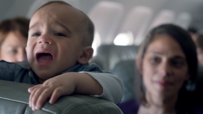 Cry and fly: why one airline rewarded passengers everytime a baby cried on board