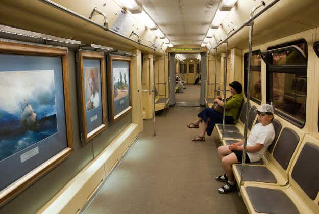 Russian 'Metromarathoners' to visit every station of Moscow metro in a day