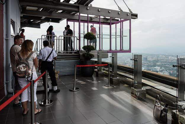Sky Box opens to the public for breathtaking views at the KL Tower in Kuala Lumpur