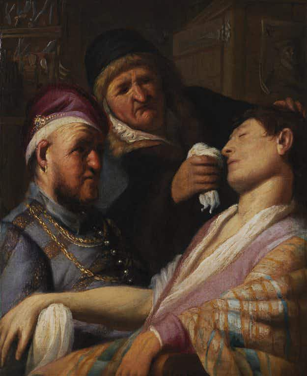 Recently rediscovered Rembrandt painting is now on display at the Getty in LA