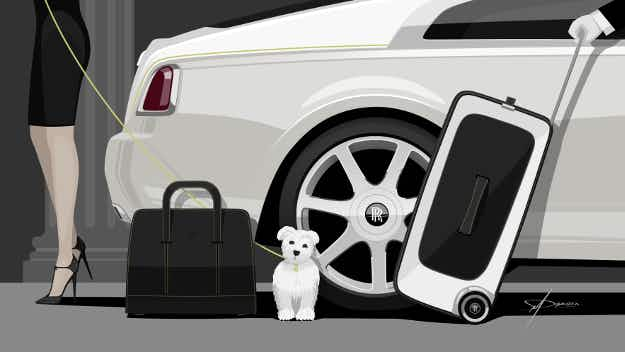 Rolls-Royce has created a $45,000 luggage set so you can finally match your bags to your luxury car