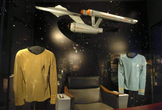 Boldly going where no museum... Seattle museum celebrates half a century of Star Trek