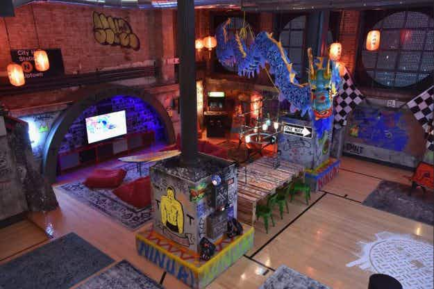 Spend a night in the Teenage Mutant Ninja Turtles' secret New York lair at a new Airbnb