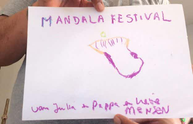 Introducing Mandala: the festival designed by a four-year-old is coming to the Netherlands