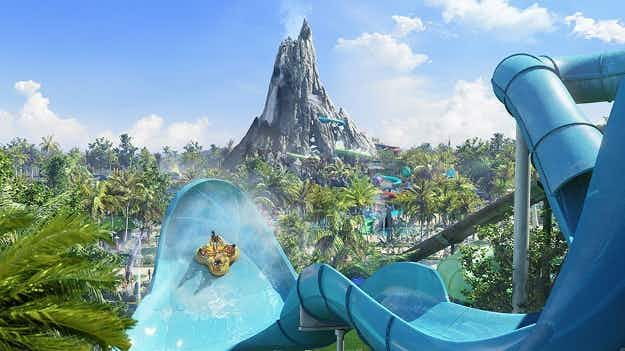 See the plans for the new 28-acre water park coming to Universal Orlando