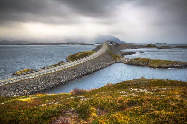 Norway's twisted Atlantic Ocean Road is named best summer drive in Europe