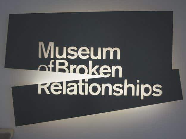 When love breaks down....donate your mementoes to LA's newest museum