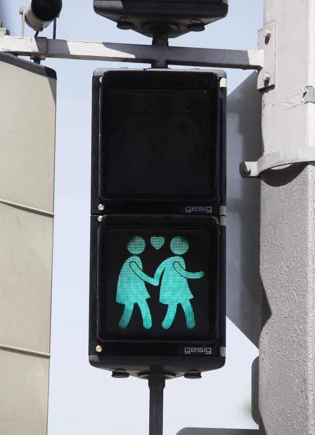 Vienna's gay-themed traffic lights to be made into t-shirts after Eurovision success