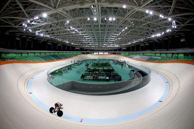 On your bike! The final arena for Rio2016 has been unveiled