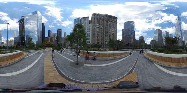 New York's elevated Liberty Park opens overlooking 9/11 memorial site