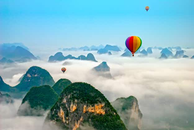 Want to take a hot air balloon ride in China? It may soon be available through Uber