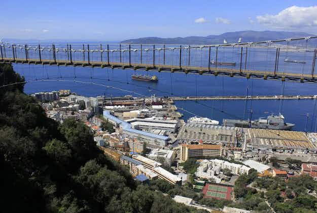 Gibraltar's 'Thrill Seekers Trail' suspension bridge opens to the public