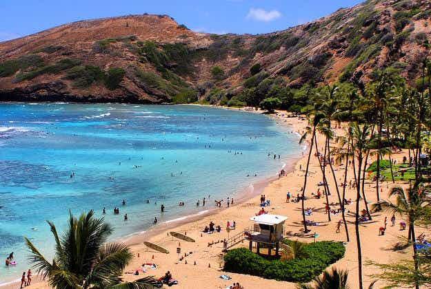Dr Beach has declared this Hawaiian stretch the greatest beach in America
