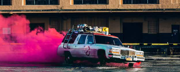 Catch a free ride in the Ghostbusters' Ecto-1 this weekend in five US cities