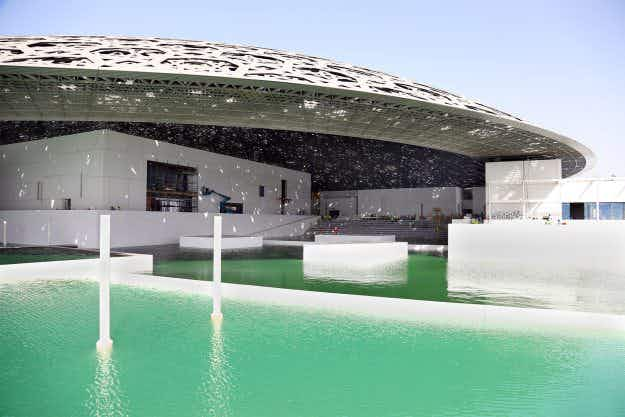 Take a first look at Abu Dhabi's floating Louvre museum