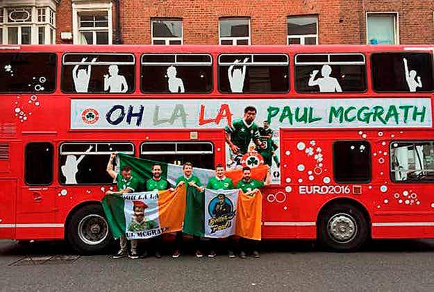 Bordeaux prepares for influx of Irish football fans travelling in customized buses