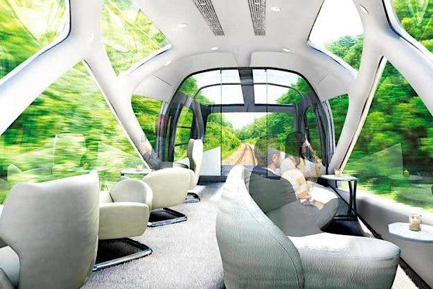 A luxury hotel on tracks: Japan to get two new trains giving a high end travelling experience