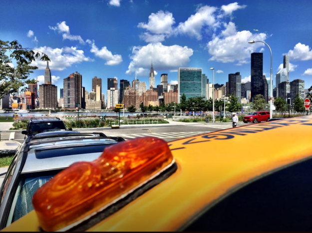 Sleep overnight in a yellow cab in New York without running up the meter