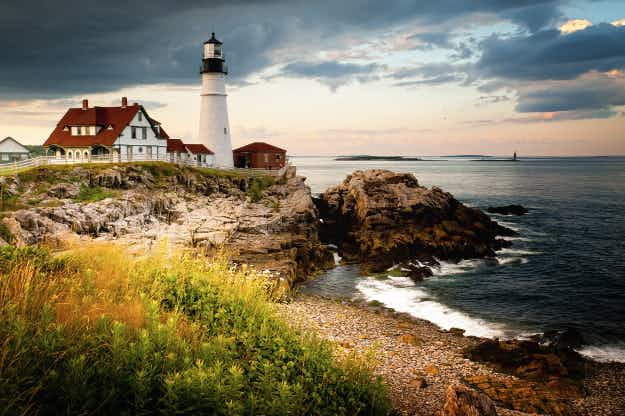 The state of Maine wants travellers to come for a vacation and stay for life