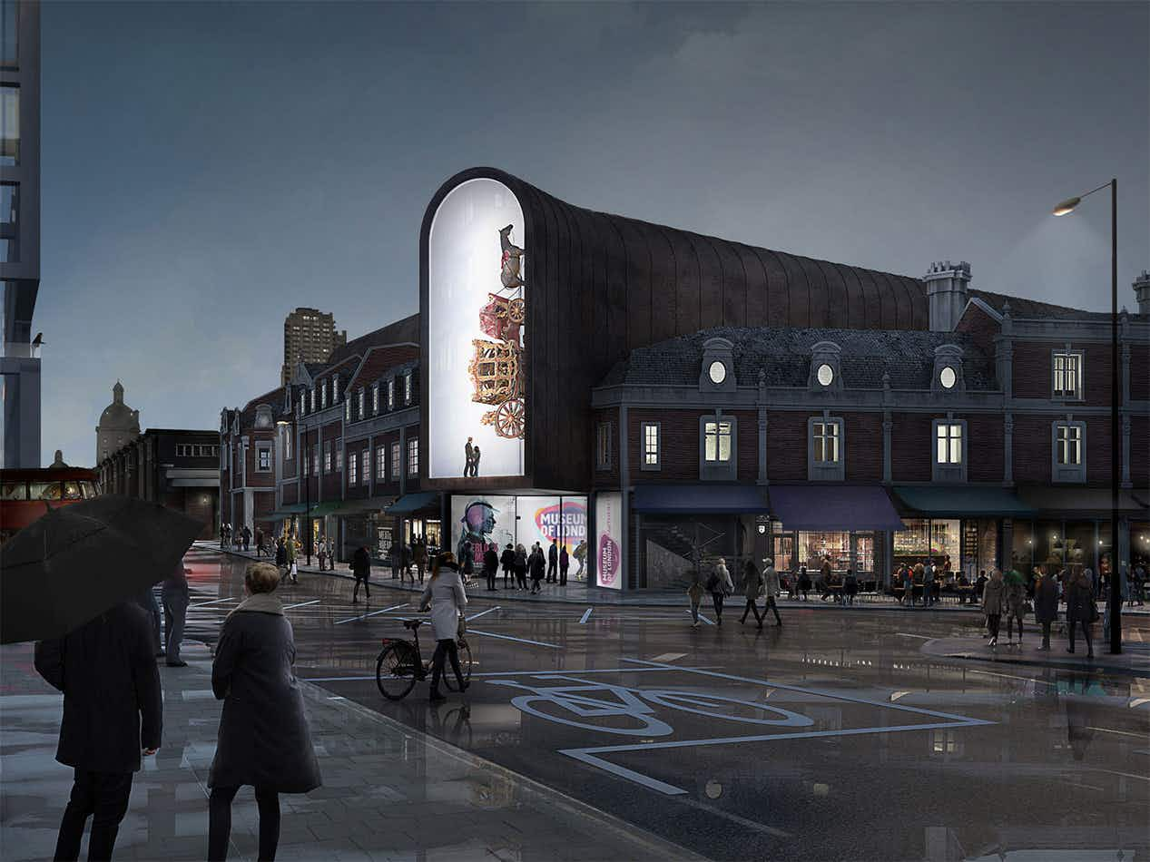 Which is your favourite? See the shortlisted designs for the Museum of London's relocation