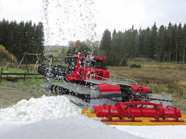 Could this snow-making machine see us skiing into the summer months?