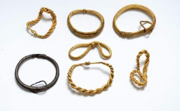 Amateur archaeologists discover largest ever Viking gold collection in Denmark