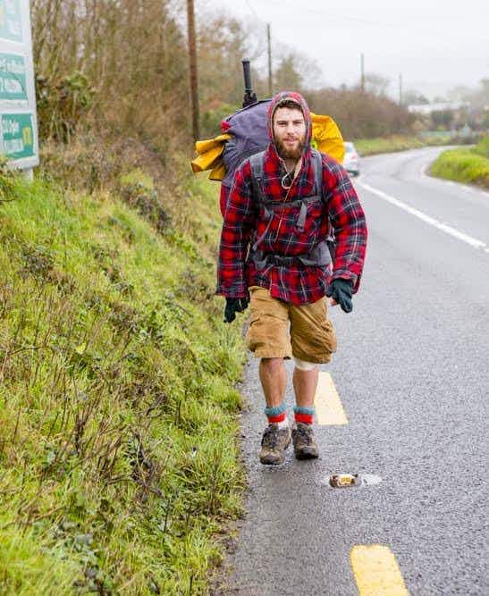 This 23-year-old has been walking the coastline of Britain and Ireland for two years
