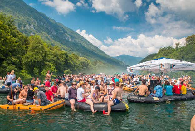 The merry Drina Regatta honours the century-old tradition of Drina rafters