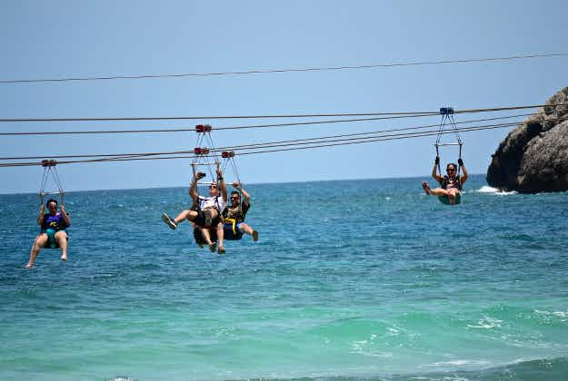 Looking for fast thrills? Europe gets first zip line over the sea in Croatia