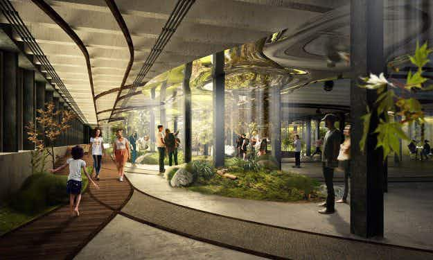 The world's first underground park is one step closer to reality in New York