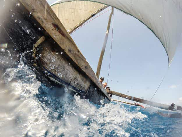 Fancy a 500-mile boat race off Tanzania in a hollowed out mango tree?