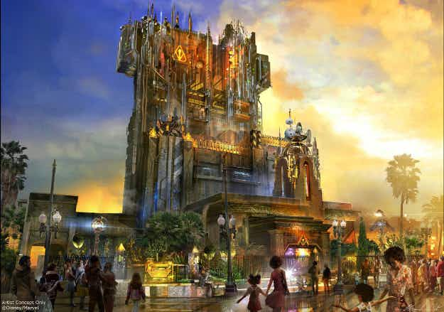 A Guardians of the Galaxy ride is coming to Disneyland in California