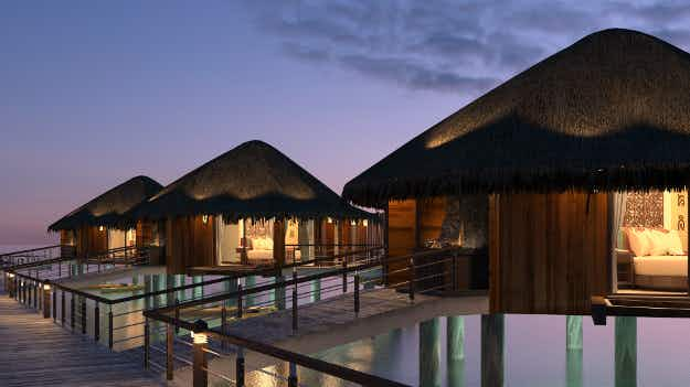 Mexico is getting its first overwater bungalows at a beachfront resort