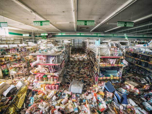 Daring photographer captures haunting pictures from inside Fukushima Exclusion Zone