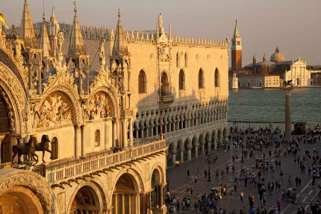 Guardians have been appointed to patrol St Mark's Square in Venice