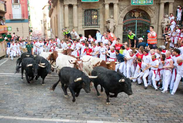 Risk of injury at running of the bulls  festival in Pamplona is minimal experts say