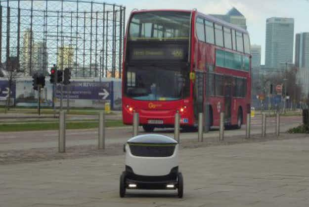 Coming to a takeaway near you: robots get ready to deliver food across London
