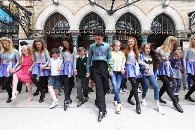 Watch the mammoth 24-hour Riverdance performance taking place in Dublin right now