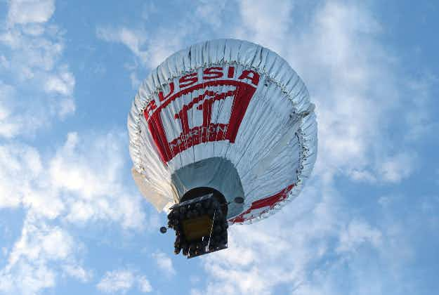 Russian adventurer starts solo round-the-world flight in hot-air balloon