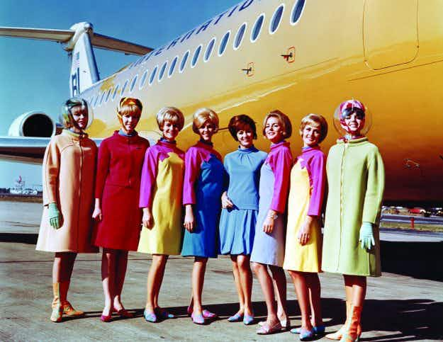 Style in the aisles - marvel at the amazing and outlandish history of flight uniforms