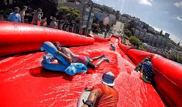 Dublin city is getting an amazing waterslide for one day only